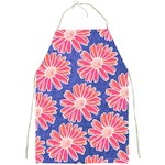 Pink Daisy Pattern Full Print Aprons Front