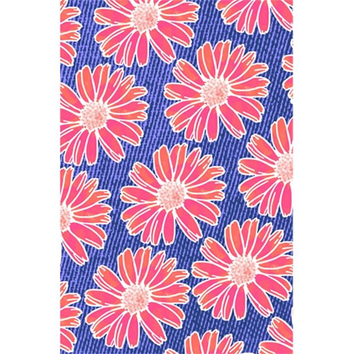 Pink Daisy Pattern 5.5  x 8.5  Notebooks