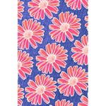 Pink Daisy Pattern 5.5  x 8.5  Notebooks Back Cover