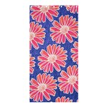 Pink Daisy Pattern Shower Curtain 36  x 72  (Stall)  33.26 x66.24 Curtain
