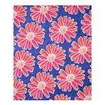 Pink Daisy Pattern Shower Curtain 60  x 72  (Medium)  54.25 x65.71 Curtain