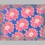 Pink Daisy Pattern Deluxe Canvas 16  x 12   16  x 12  x 1.5  Stretched Canvas