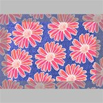 Pink Daisy Pattern Deluxe Canvas 18  x 12   18  x 12  x 1.5  Stretched Canvas