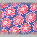 Pink Daisy Pattern Deluxe Canvas 24  x 20   24  x 20  x 1.5  Stretched Canvas