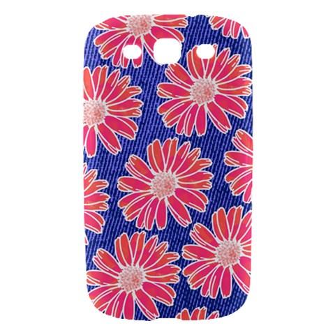 Pink Daisy Pattern Samsung Galaxy S III Hardshell Case