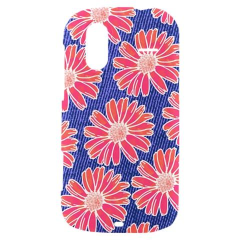 Pink Daisy Pattern HTC Amaze 4G Hardshell Case