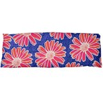 Pink Daisy Pattern Body Pillow Case (Dakimakura) Body Pillow Case
