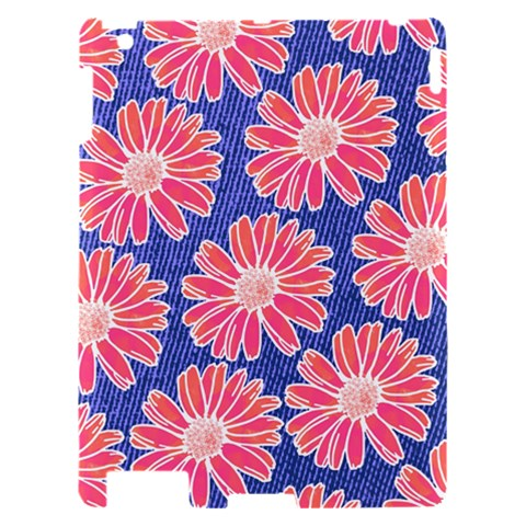 Pink Daisy Pattern Apple iPad 2 Hardshell Case