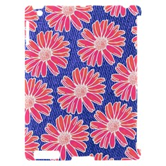 Pink Daisy Pattern Apple iPad 2 Hardshell Case (Compatible with Smart Cover)