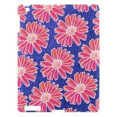 Pink Daisy Pattern Apple Ipad 3/4 Hardshell Case