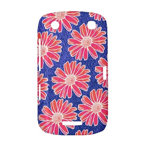 Pink Daisy Pattern BlackBerry Curve 9380