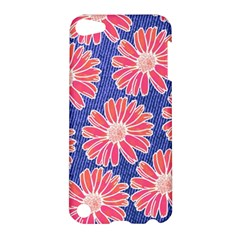 Pink Daisy Pattern Apple iPod Touch 5 Hardshell Case