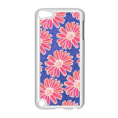 Pink Daisy Pattern Apple Ipod Touch 5 Case (white)
