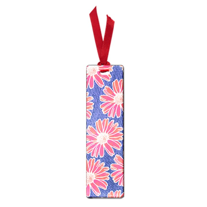 Pink Daisy Pattern Small Book Marks
