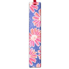 Pink Daisy Pattern Large Book Marks