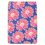 Pink Daisy Pattern Flap Covers (L)  Front