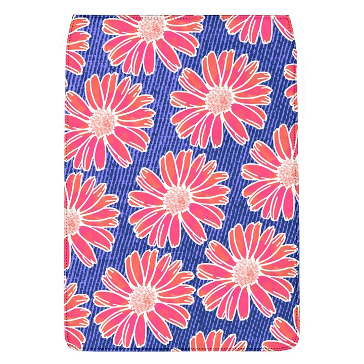 Pink Daisy Pattern Flap Covers (L)