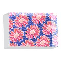 Pink Daisy Pattern 4 x 6  Acrylic Photo Blocks