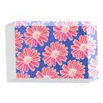 Pink Daisy Pattern 4 x 6  Acrylic Photo Blocks Front