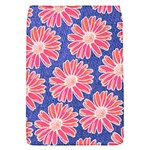 Pink Daisy Pattern Flap Covers (S)  Front