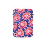 Pink Daisy Pattern Apple iPad Mini Protective Soft Cases Front