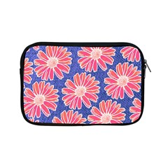 Pink Daisy Pattern Apple Ipad Mini Zipper Cases