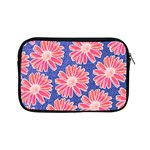 Pink Daisy Pattern Apple iPad Mini Zipper Cases Front