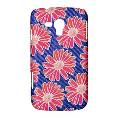 Pink Daisy Pattern Samsung Galaxy Duos I8262 Hardshell Case