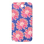 Pink Daisy Pattern Samsung Note 2 N7100 Hardshell Back Case Front