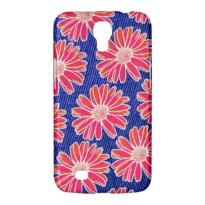 Pink Daisy Pattern Samsung Galaxy Mega 6.3  I9200 Hardshell Case