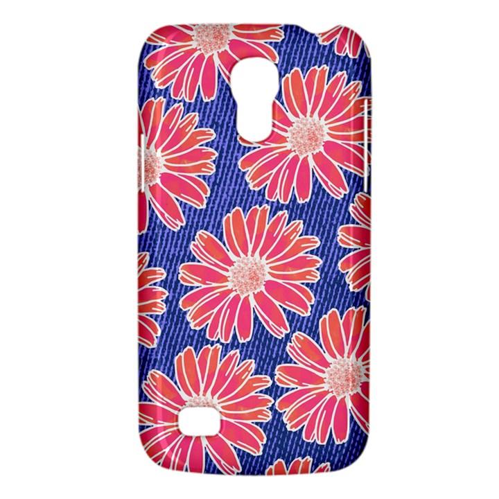 Pink Daisy Pattern Galaxy S4 Mini