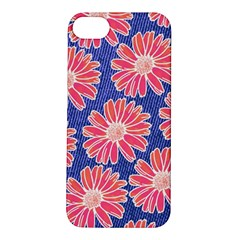 Pink Daisy Pattern Apple iPhone 5S/ SE Hardshell Case