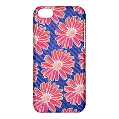 Pink Daisy Pattern Apple iPhone 5C Hardshell Case