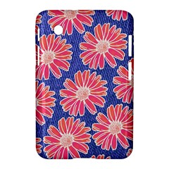 Pink Daisy Pattern Samsung Galaxy Tab 2 (7 ) P3100 Hardshell Case