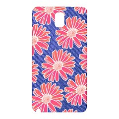 Pink Daisy Pattern Samsung Galaxy Note 3 N9005 Hardshell Back Case