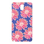 Pink Daisy Pattern Samsung Galaxy Note 3 N9005 Hardshell Back Case Front