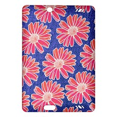 Pink Daisy Pattern Amazon Kindle Fire HD (2013) Hardshell Case