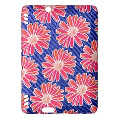 Pink Daisy Pattern Kindle Fire HDX Hardshell Case