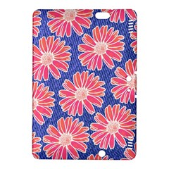 Pink Daisy Pattern Kindle Fire HDX 8.9  Hardshell Case