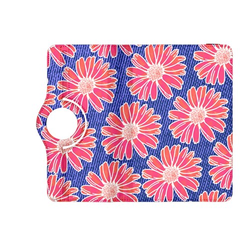 Pink Daisy Pattern Kindle Fire HDX 8.9  Flip 360 Case