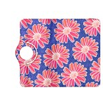 Pink Daisy Pattern Kindle Fire HDX 8.9  Flip 360 Case Front