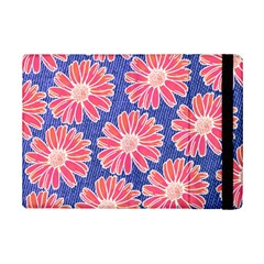 Pink Daisy Pattern iPad Mini 2 Flip Cases