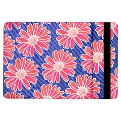 Pink Daisy Pattern iPad Air Flip