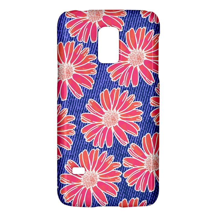 Pink Daisy Pattern Galaxy S5 Mini