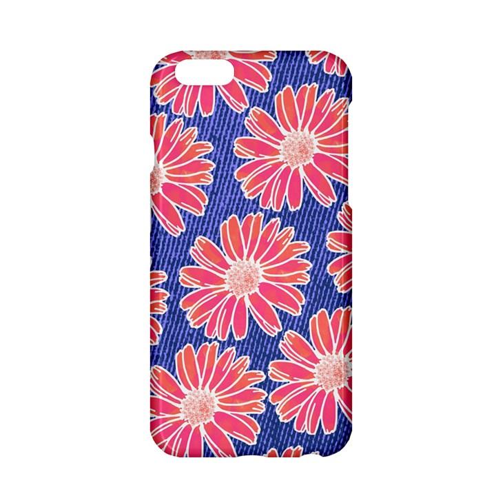 Pink Daisy Pattern Apple iPhone 6/6S Hardshell Case