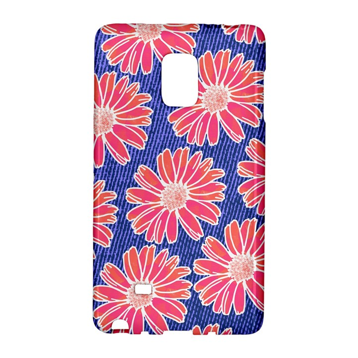 Pink Daisy Pattern Galaxy Note Edge