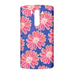 Pink Daisy Pattern LG G3 Back Case
