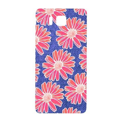 Pink Daisy Pattern Samsung Galaxy Alpha Hardshell Back Case
