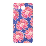 Pink Daisy Pattern Samsung Galaxy Alpha Hardshell Back Case Front