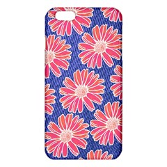 Pink Daisy Pattern iPhone 6 Plus/6S Plus TPU Case